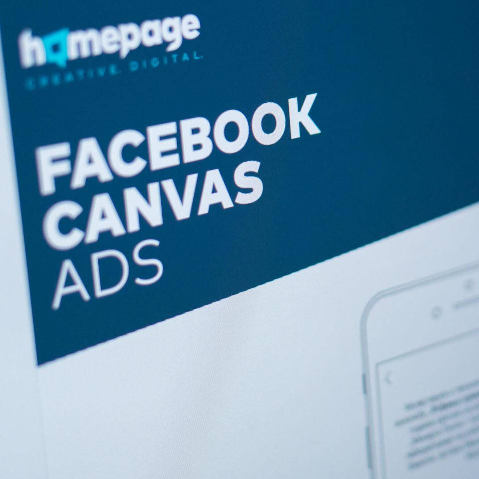 Canvas ads Facebook