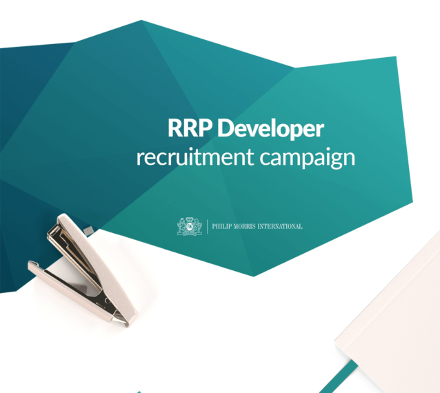 RRP Developer recruitment campaign