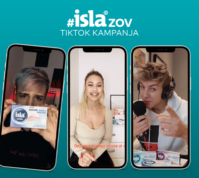 TikTok kampanja #islazov